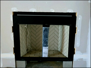 Gas Log Fireplace Installation